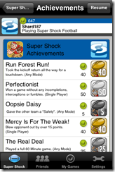 Super Shock Achievements