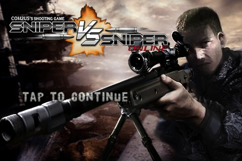 Com2uS Announces Sniper vs  Sniper: Online for iPhone, iPod Touch on