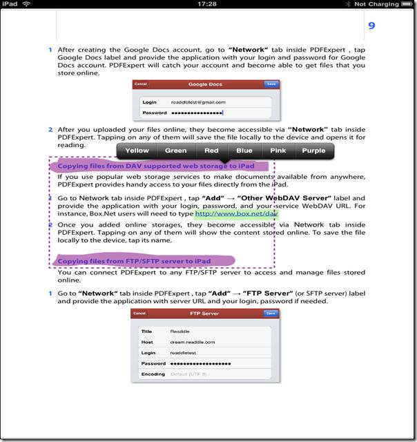 PDF Expert for iPad-4