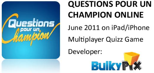 Questions pour un champion online for Decor question pour un champion