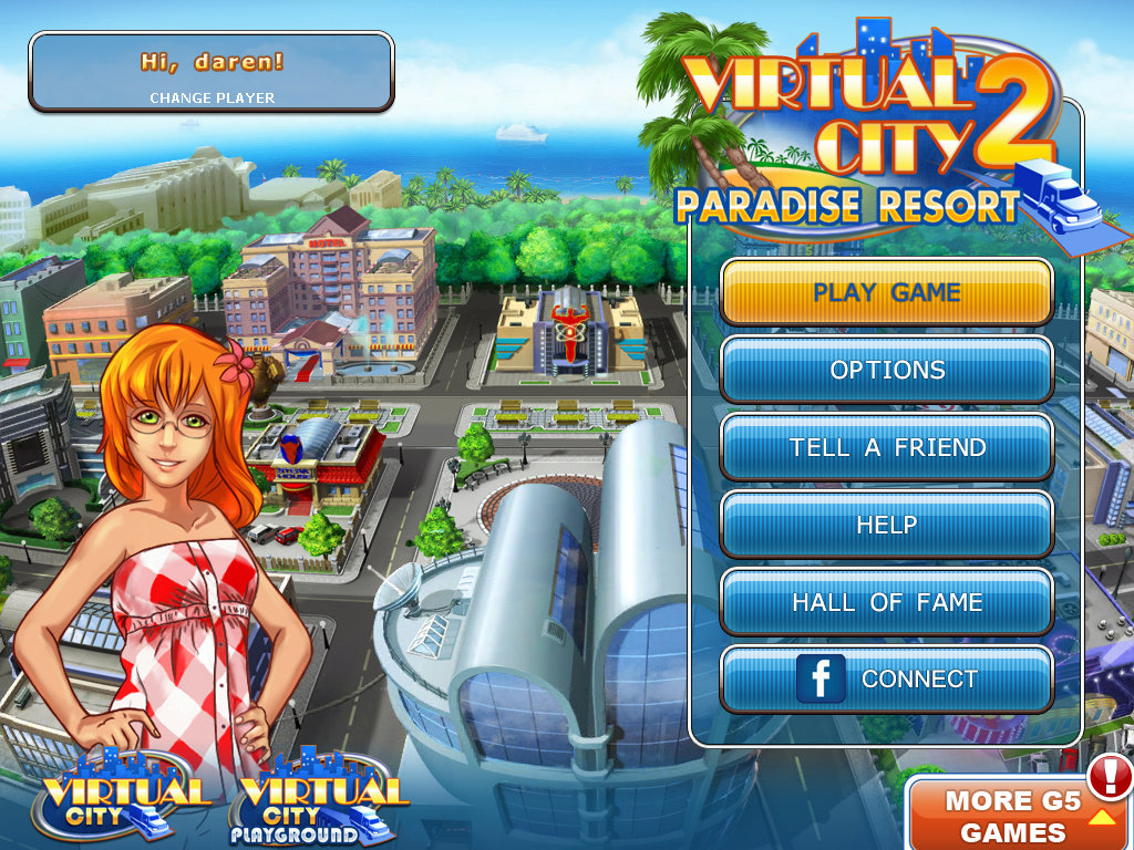 Virtual city 2 paradise resort game review for ipad for Virtual tiny house builder