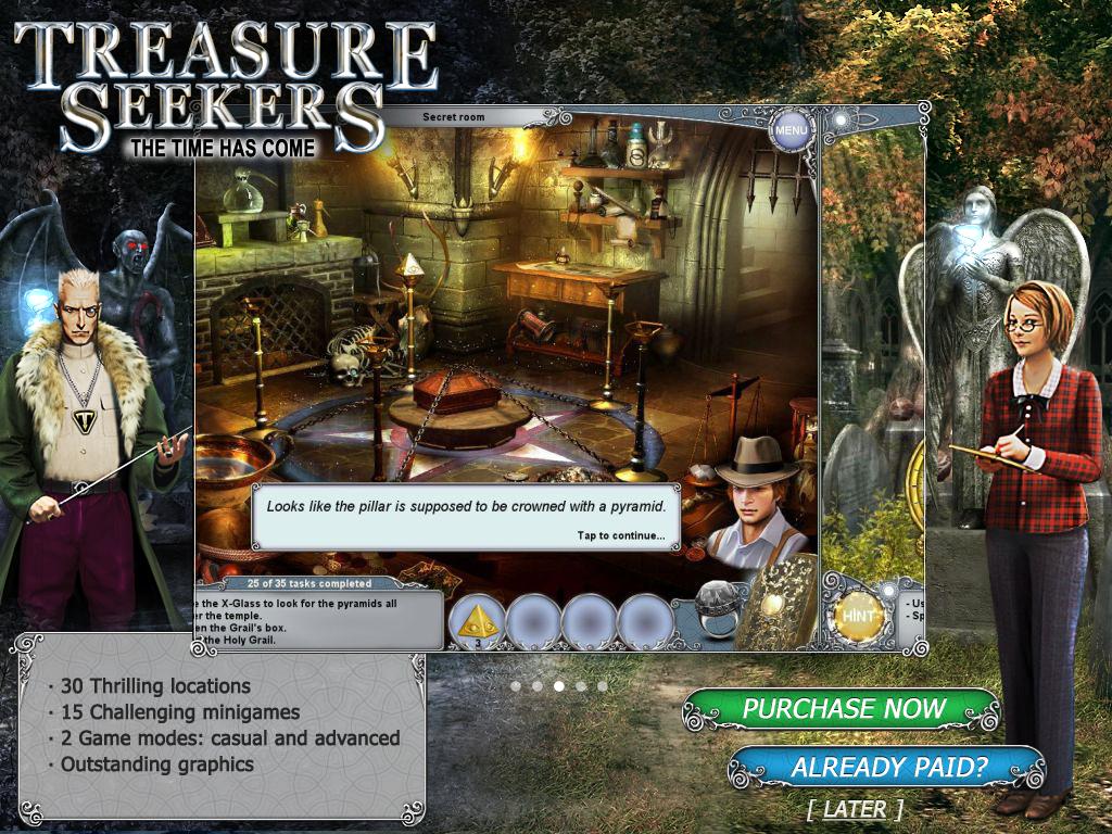 Treasure Seekers 4 Free Game | Sweet Fun and Serious Iphone